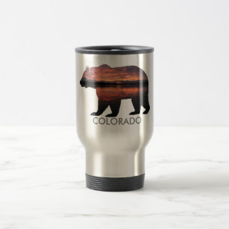 Colorado Bear | Sunset | Silver Mug
