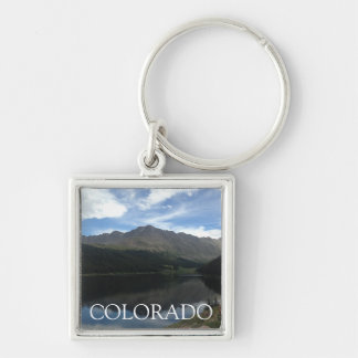 Colorado Beautiful Mountains Serene Lake Keychain