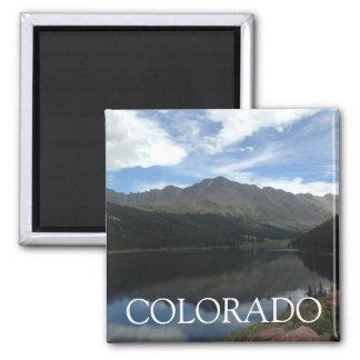 Colorado Beautiful Mountains & Serene Lake Magnet