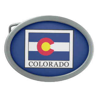 Colorado Belt Buckle