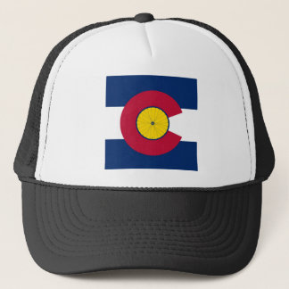 Colorado Bicycling Hat