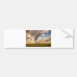 Colorado Big Sky Beams of Sunshine Bumper Sticker