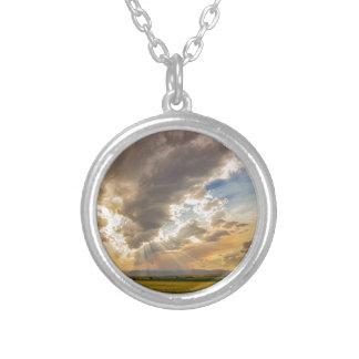 Colorado Big Sky Beams of Sunshine Silver Plated Necklace