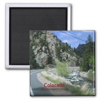 Colorado Big Thompson Canyon  Magnet