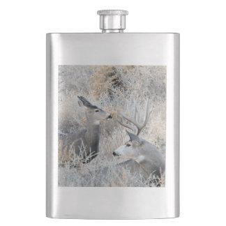 Colorado Buck and Doe Flask