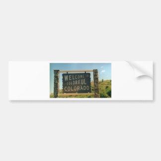 Colorado Bumper Sticker