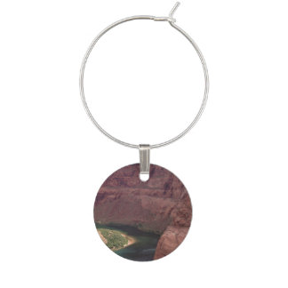 Colorado Canyon Wine Charm