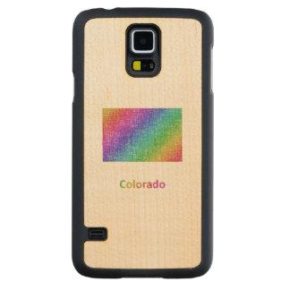 Colorado Carved Maple Galaxy S5 Case