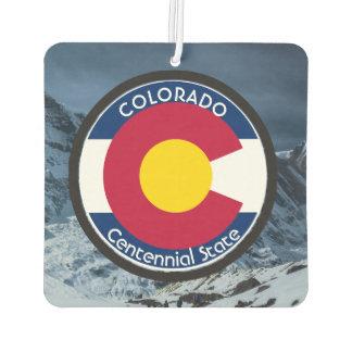 Colorado Circular Flag Air Freshener