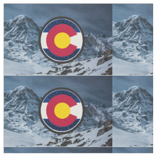 Colorado Circular Flag Fabric