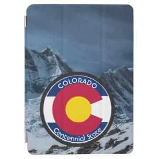Colorado Circular Flag iPad Air Cover