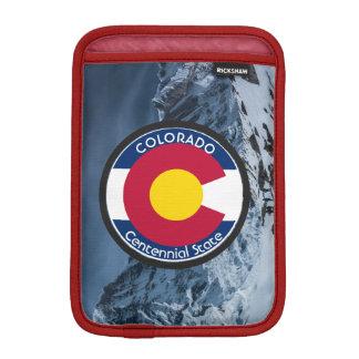 Colorado Circular Flag iPad Mini Sleeve