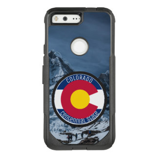 Colorado Circular Flag OtterBox Commuter Google Pixel Case