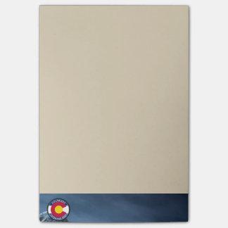 Colorado Circular Flag Post-it Notes