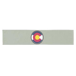 Colorado Circular Flag Short Table Runner