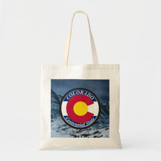 Colorado Circular Flag Tote Bag