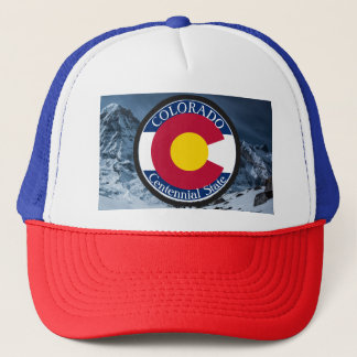 Colorado Circular Flag Trucker Hat