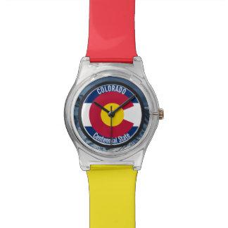 Colorado Circular Flag Watch