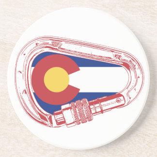 Colorado Climbing Carabiner Coaster