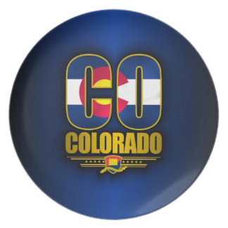 Colorado (CO) Plate