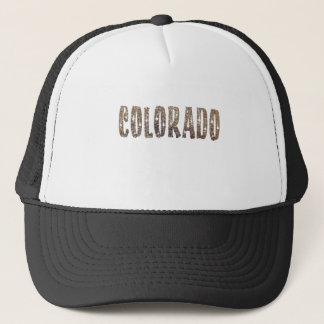 Colorado Coffee and Stars Trucker Hat