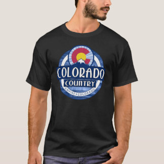 Colorado Country black tshirt