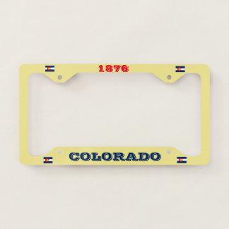 Colorado Custom License Plate License Plate Frame