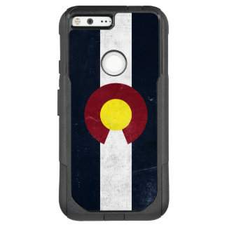 Colorado Dark Grunge Flag OtterBox Commuter Google Pixel XL Case