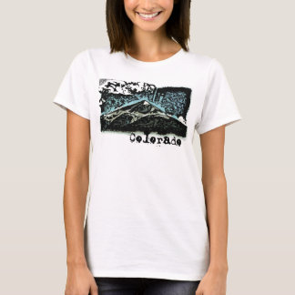 Colorado deco mountain tee