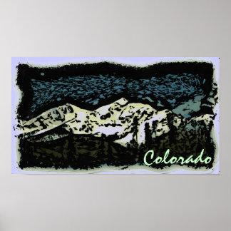 Colorado deco poster
