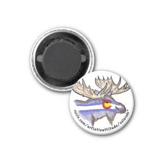 Colorado deer eye promo magnet