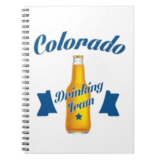 Colorado Drinking team Notebooks