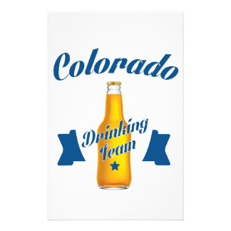 Colorado Drinking team Stationery