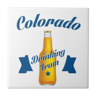 Colorado Drinking team Tile