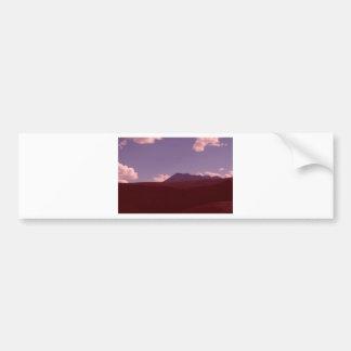 Colorado Fall Scene Bumper Sticker