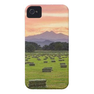 Colorado_Farmers_Burning_Sunset iPhone 4 Case-Mate Case