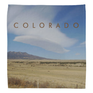 Colorado Feather Like Cloud Bandana