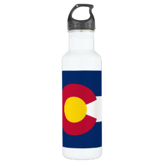 Colorado Flag 710 Ml Water Bottle