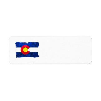 COLORADO FLAG Address Labels