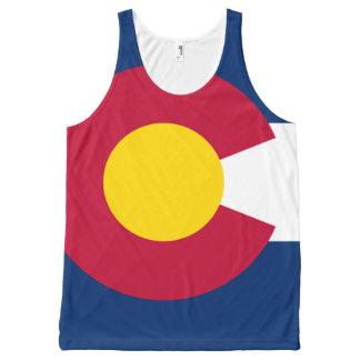 Colorado flag All over print shirt