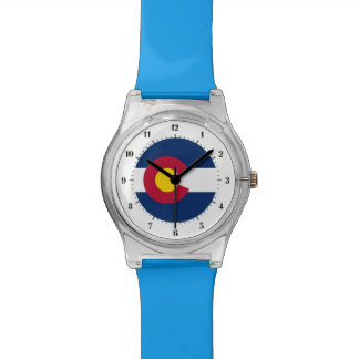 Colorado  flag, American state flag Watch