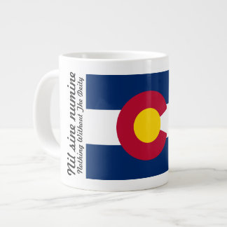 Colorado Flag and Motto 20 oz Mug