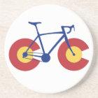 Colorado Flag Bicycle Coaster