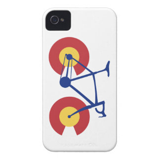 Colorado Flag Bicycle iPhone 4 Cover