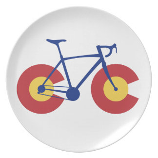 Colorado Flag Bicycle Plate