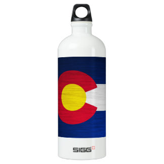 Colorado Flag Brushed