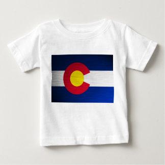 Colorado Flag Brushed Baby T-Shirt