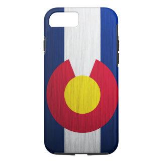 Colorado Flag Brushed iPhone 7 Case