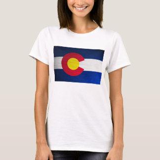 Colorado Flag Brushed T-Shirt