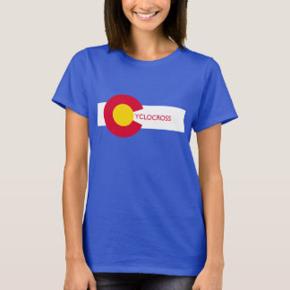Colorado Flag Cyclocross Women's T-Shirt